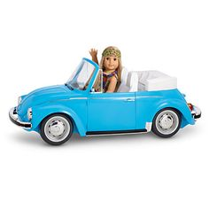 American Girl Julie's Charity Car Wash Set Blue Beetle Volkswagon Ivy NEW | eBay