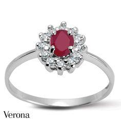 Pierścionek z rubinem Sophie ● www.Verona.pl/8545-pierscionek-z-rubinem-sophie-ps31591-bb000-ruccrw-000 #jewellery #ring #accessories #blingbling #details #shining #classy #sale #greatprice #buyonline #verona #jewelleryfreak #jewellerylover #jewelleryobcessed #jewelry #jewels