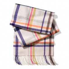 coach fashion scarves pics | ️CASHMERE TATTERSALL SCARF $178 STYLE NO. 84063