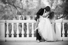 photo de mariage noir et blanc sexy et provocative
