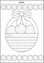schede pregrafismo Pre Writing Practice, Worksheets, Pre K Activities, Fine Motor Skills, Spring Crafts, Pre School, Easter Crafts, Kids Learning, Coloring Pages