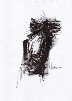 John Constantine by Leonardo Manco, in Dan Howard's Constantine Gallery Comic Art Gallery Room - 1178683