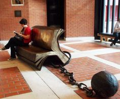 At British Library British Library, Lounge, Couch, Architecture, Places, Furniture, Home Decor, Women, Chair