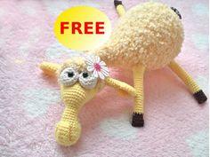 Ravelry: Dolly the sheep Amigurumi fluffy toy pattern by LittleOwlsHut - free pattern