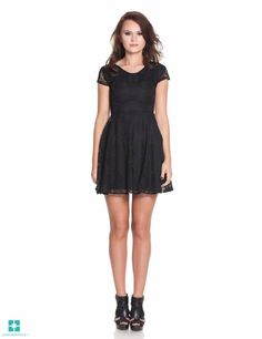 Rochie dantela neagra 475 Girl Trends, Black, Dresses, Fashion, Vestidos, Moda, Black People, Fashion Styles, Dress