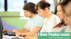 1 hour loans online offer immediate cash to an individual from the salaried individual in as quickly as 1 hour. To get this amount without the hassle of certification, you need to apply with a easy online application form. http://www.1hourpaydayloans.com.au/application.html