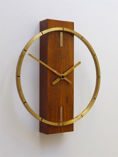 Anonymous; Wall Clock by Kienzle, c1970.