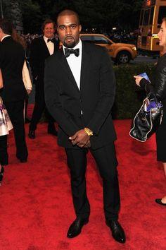 Kanye West en el MET