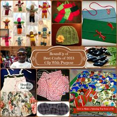 Here's a round up of some of my favorite crafts of 2013 – some I have made, and some I plan on tackling this year!
