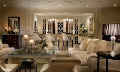 Interior: Magnificent Art Deco Home Interiors Design Ideas, Luxurious Art Deco Home Interior Living Room Idea