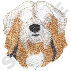 Dakota Collectibles Embroidery Design: Tibetan Terrier 3.48 inches H x 3.15 inches W