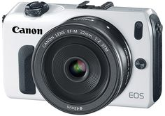 Canon unveils EOS M mirrorless: 18 MP APS-C, EF compatibility, $800 in October with 22mm lens