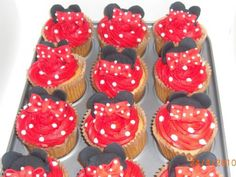 N.O. Cakes R Better - Mini-mouse cupcakes - on FreeIndex