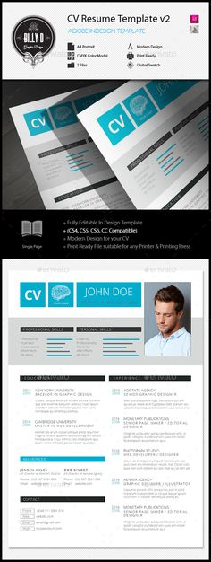 18 best CVs & Portfolios images on Pinterest | Portfolio design ...
