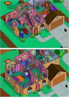 Casa dos Simpsons  Ooooooooo @dudas_costas