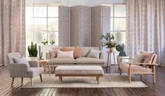 Utopia by Mokum – Design News & Style – James Dunlop Textiles Outdoor Fabric, Drapery, Curtains, Upholstery, Textiles, Indoor, Fabrics, Interior Design, Wallpaper
