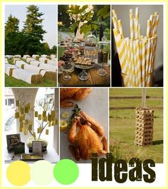 couple hay bales in back yard  40th Birthday Party Ideas For Men And Women - Photos Party Ideas On ImgIdeas.Com