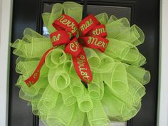 christmas wreath - this one is different and very cute!