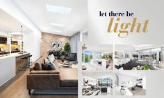When you are designing your new home, it is important to consider the light that the design creates within the home.