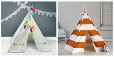 Teepees get now more and more popular. Maybe this tent will be to your liking.That kids teepee has great colors. Family Tent, Family Camping, Tent Camping, Glamping, Kids Teepee Tent, Teepees, Tents, Cabin Tent, Outdoor Games For Kids