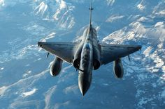 Photo : (c) Armée de l'Air - A French Armée de l'Air Dassault Mirage 2000N in flight over the Pyrenees during an exercise.