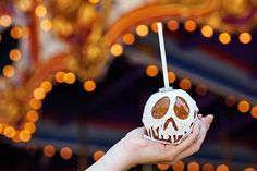 We spy with our little eyes a dazzling engagement ring adorning this Disneyland Halloween treat!