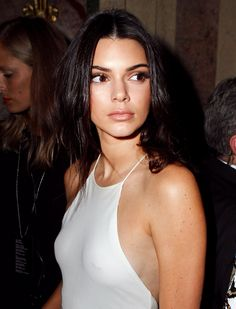 Is Kendall Jenner Flashing a Nipple Piercing Through Her Dress??