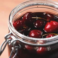 Bourbon Cherries Recipe. I made this last night and they turned out amazing! I love the combination of the brown sugar and bourbon. I can't wait to use these for a Manhattan or old fashioned!