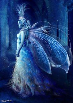 beautiful blue fairy - Google Search