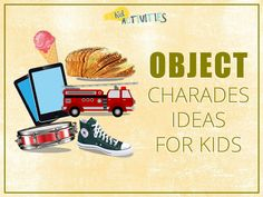 101 Good Charades Ideas for Kids to Act Out [Plus Movie Charades Ideas] Acting Games For Kids, Gym Games For Kids, Video Games For Kids, Exercise For Kids, Fun Games, Party Games, Charades Word List, Charades For Kids, Charades Game