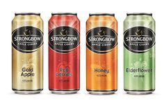 Strongbow Apple Ciders on Packaging of the World - Creative Package Design Gallery