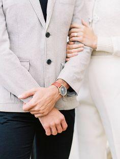 Modern-vintage Engagement Shoot at Malibu Rocky Oaks via Magnolia Rouge