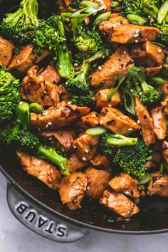 Easy Lemon Chicken Stir Fry Recipe Fox And Briar. Seitan And Vegetable Stir Fry Recipe Pickled Plum Food . Chicken And Broccoli Stir Fry Healthy Fitness Meals. Chicken Broccoli Stir Fry, Fried Broccoli, Broccoli Recipes, Healthy Chicken Stir Fry, Chicken And Broccoli Chinese, Chinese Food Recipes Chicken, Keto Stir Fry, Homemade Chinese Food, Stir Fry Pan