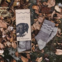 The Ultimate American Sock | United By Blue  Bison Down Socks! Someone get me these for my birthday!