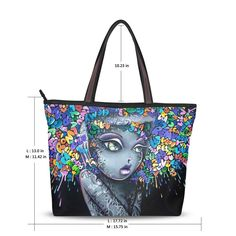 Design your own handbag by sending picture to us