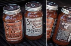 Dead End BBQ and Sugarlands Distilling Company have created two unique #BBQ sauce flavors—Peach and Rye—using our award winning Sugarlands Shine. The result is undeniably delicious and we cannot wait to share it with y'all! Both flavors will be available for purchase at all Dead End BBQ locations and at our Downtown Gatlinburg distillery. #moonshineBBQ #moonshine #sugarlandsshine #memorial #day #weekend #yummy #jars