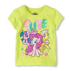 My Little Pony Cute Girls Tee (2T) @ niftywarehouse.com
