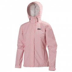 Women's Nine K Jacket- Alert Red Dots