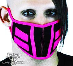 Cryo Tron Mask Black/UV Pink
