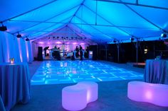 Rent a light up LED dance floor in Orlando Florida! Book your lighted LED dance floor rental for your next event!