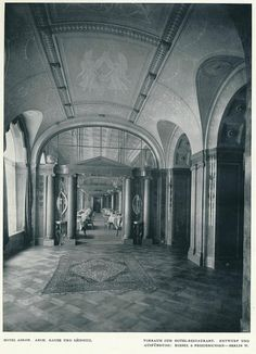 Innendecoration 1908 Berlin Hotel Adlon h | janwillemsen | Flickr