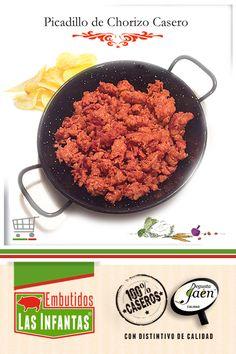 Picadillo De Chorizo Chorizos Caseros Chorizo Embutidos