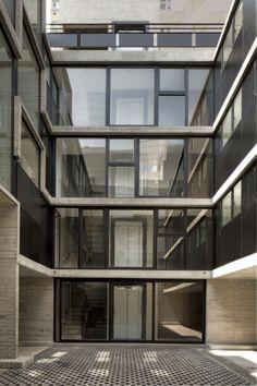 Apartment building CB7 in México City, Mexico (2012). Design by La Proyectería.