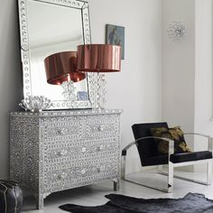 Things We Love: Bone Inlay Furniture