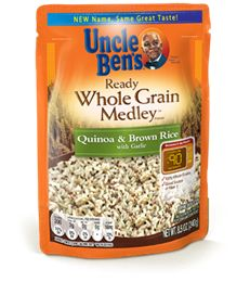 Uncle Ben S Ready Whole Grain Medley Rice Instant Microwave