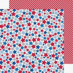 Introducing the new Patriotic Picnic Collection from Doodlebug Design - 12x12 double-sided awesomeness