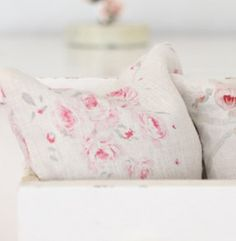 chalky pale, fresh palette for Spring with a splash of raspberry pink
