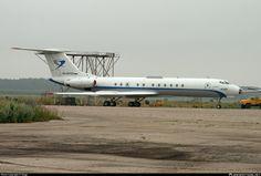Jet Air Group  Tupolev Tu-134A-3M RA-65723 aircraft, parked at Russian Federation Nizhny Novgorod Strigino International Airport. 09/07/2013.