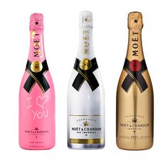 moet slaves gold rose ice #wine #labels #champagne www.prettywines.com