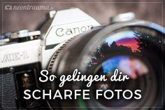 Ob ein Foto gelungen ist, hängt maßgeblich von seiner Schärfe ab. Dieses Tutorial zeigt dir ein paar Tipps & Tricks, wie dir knackigere Aufnahmen gelingen.
